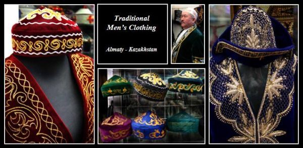 Traditional cosumes of Kazakh men